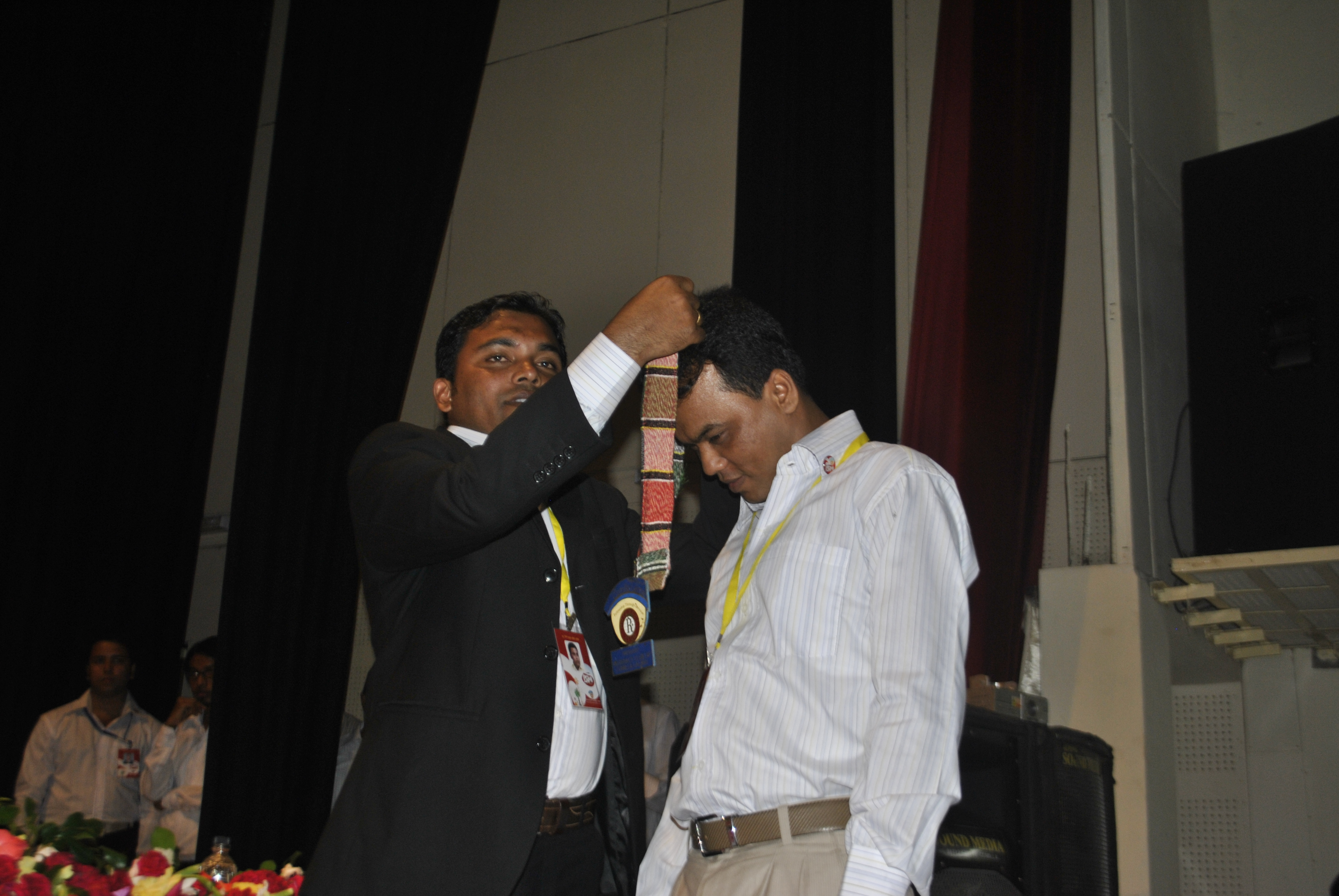 10 th Installation of Rotaract Club of Comilla Lalmai on 12 October 2012.
